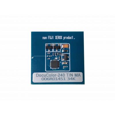 006R01225 6R1225 006R01452 Чип пурпурного тонер-картриджа Xerox Docucolor 240, 242, 250, 252, 260