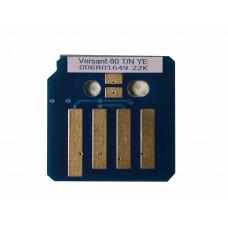 Чип жёлтого картриджа Xerox Versant 80, 180 Press