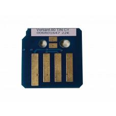 Чип голубого картриджа Xerox Versant 80, 180 Press