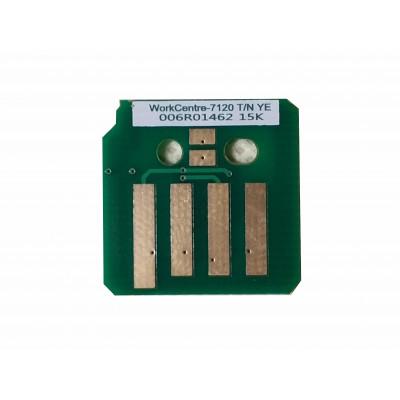Чип жёлтого картриджа Xerox WorkCentre 7120, 7125, 7220, 7225
