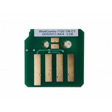Чип голубого картриджа Xerox WorkCentre 7120, 7125, 7220, 7225