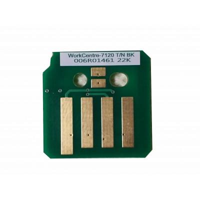 Чип чёрного картриджа Xerox WorkCentre 7120 7125 7220 7225 совместимый