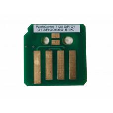Чип голубого копи-картриджа Xerox WorkCentre 7120,7125,7220,7225