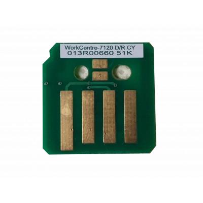 13R660 013R00660  Чип голубого копи-картриджа Xerox WorkCentre 7120,7125,7220,7225  7120CNC Совместимая продукция