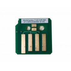 Чип пурпурного копи-картриджа Xerox WorkCentre 7120,7125,7220,7225