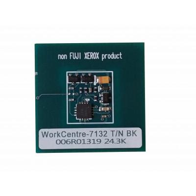 006R01319  Чип чёрного картриджа Xerox WorkCentre 7132,7232,7242  7132TRCBD Совместимая продукция