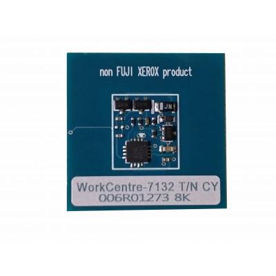 006R01273  Чип голубого картриджа Xerox WorkCentre 7132,7232,7242  7132TRCCD Совместимая продукция